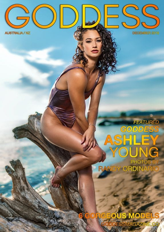 Goddess Magazine – December 2018 – Ashley Young 3