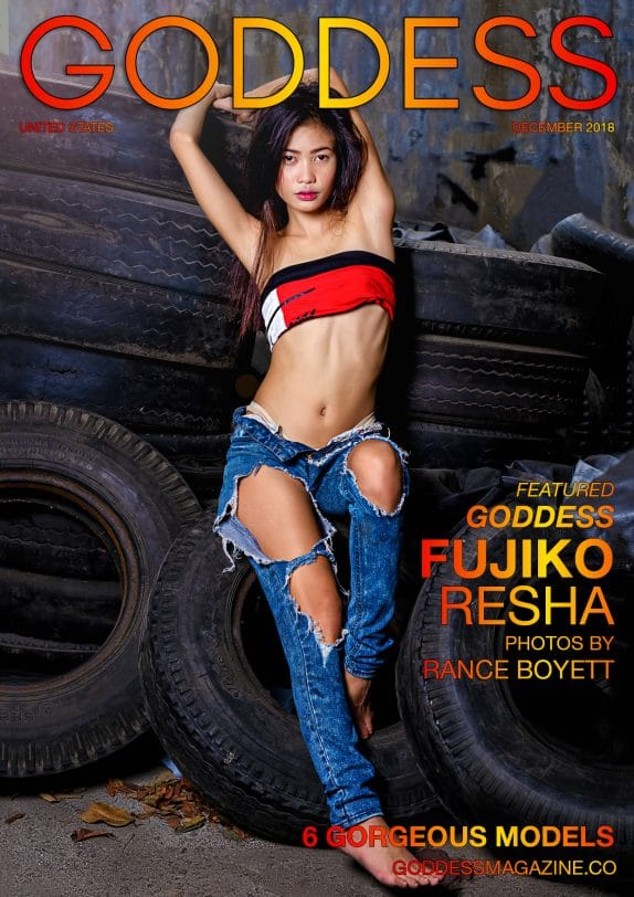 Goddess Magazine – December 2018 – Fujiko Resha 9