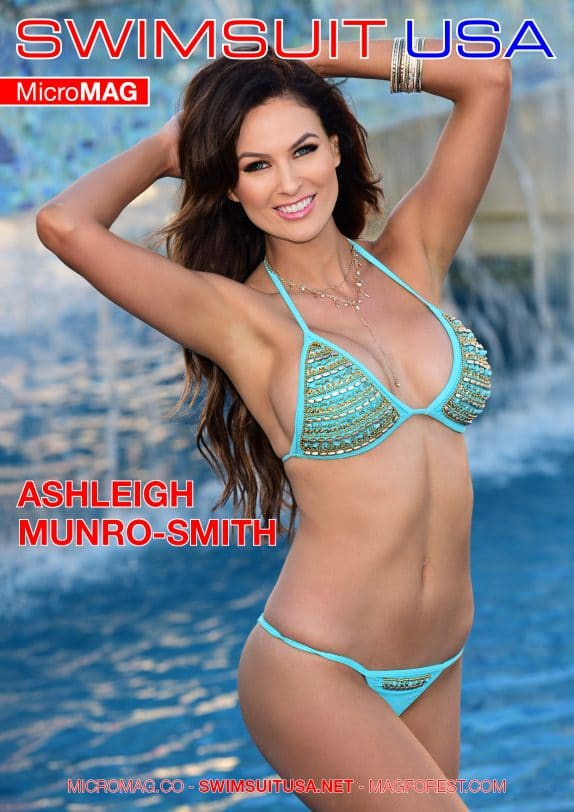 Swimsuit USA MicroMAG - Ashleigh Munro-Smith - Issue 2 2