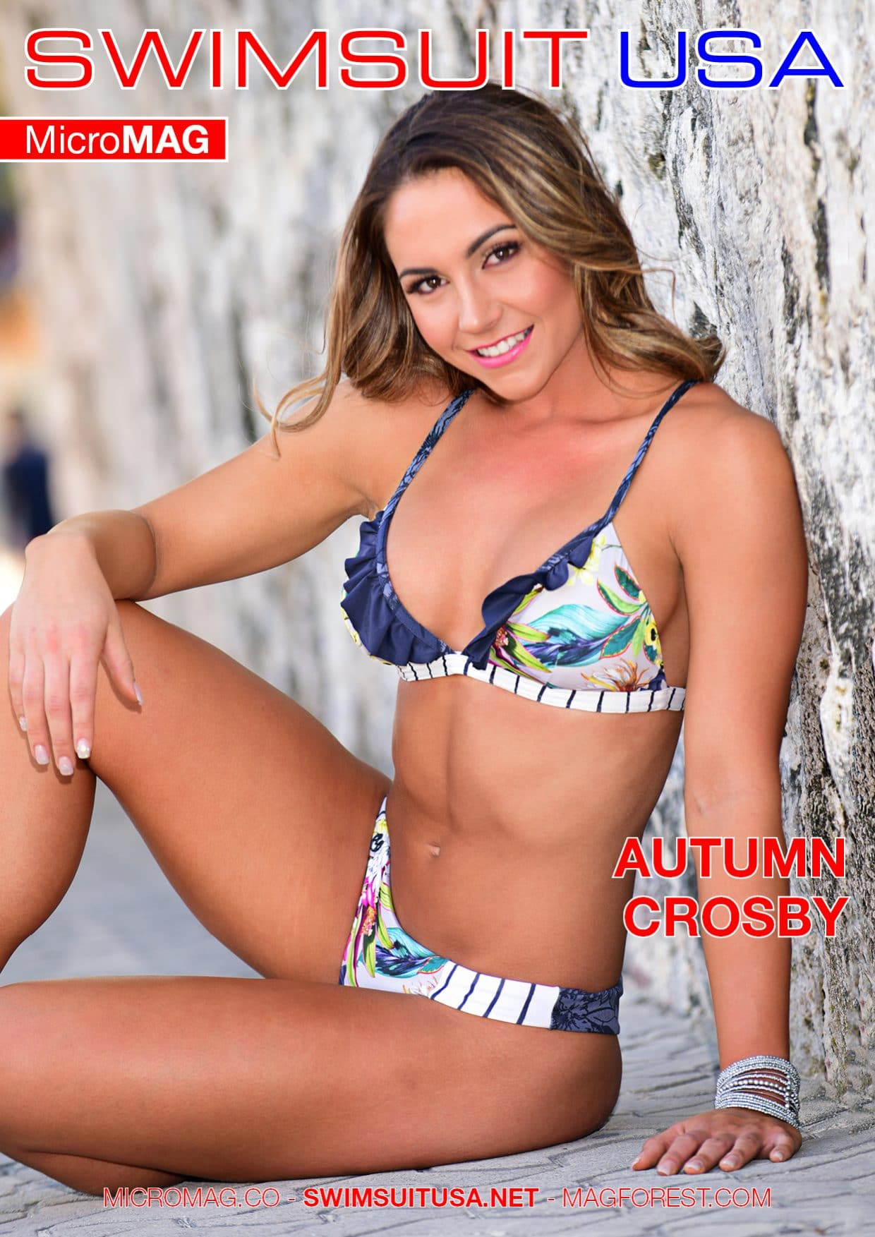 Swimsuit Usa Micromag – Autumn Crosby – Issue 2