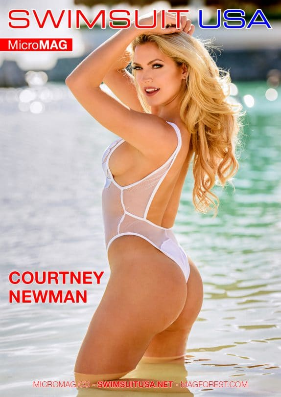 Swimsuit Usa Micromag – Courtney Newman – Issue 2