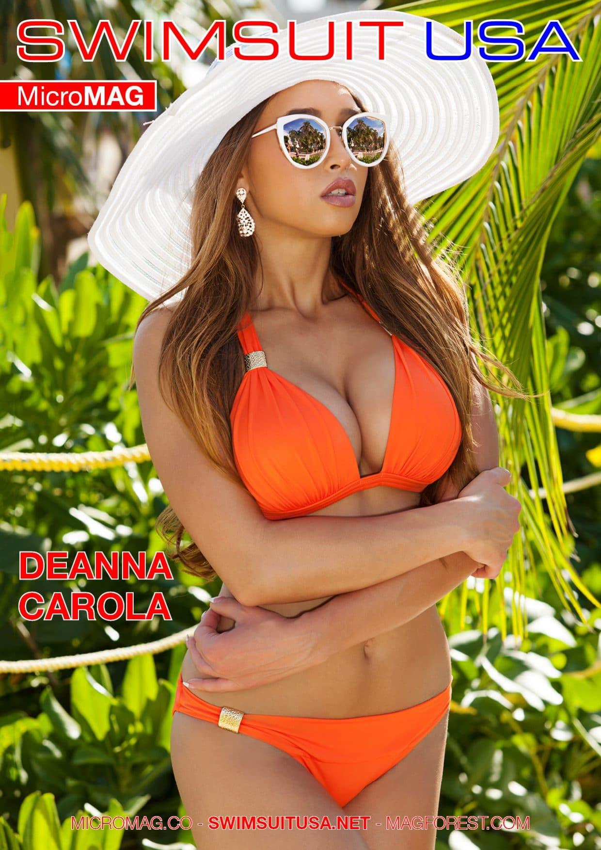 Swimsuit USA MicroMAG - Deanna Carola 1