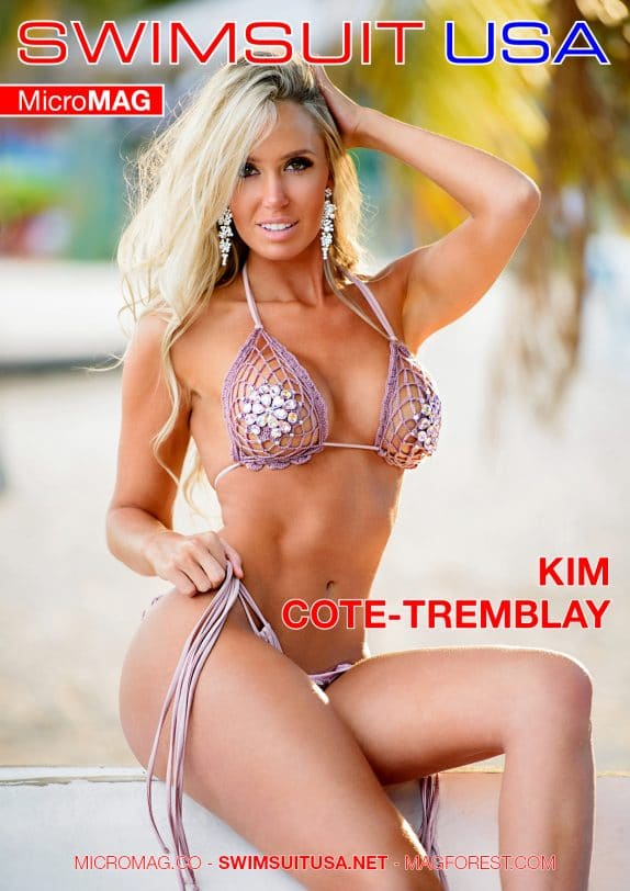 Swimsuit USA MicroMAG - Kim Cote-Tremblay - Issue 2 5