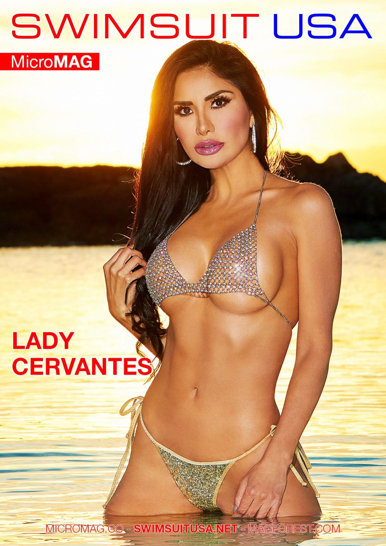 Swimsuit USA MicroMAG - Lady Cervantes 1