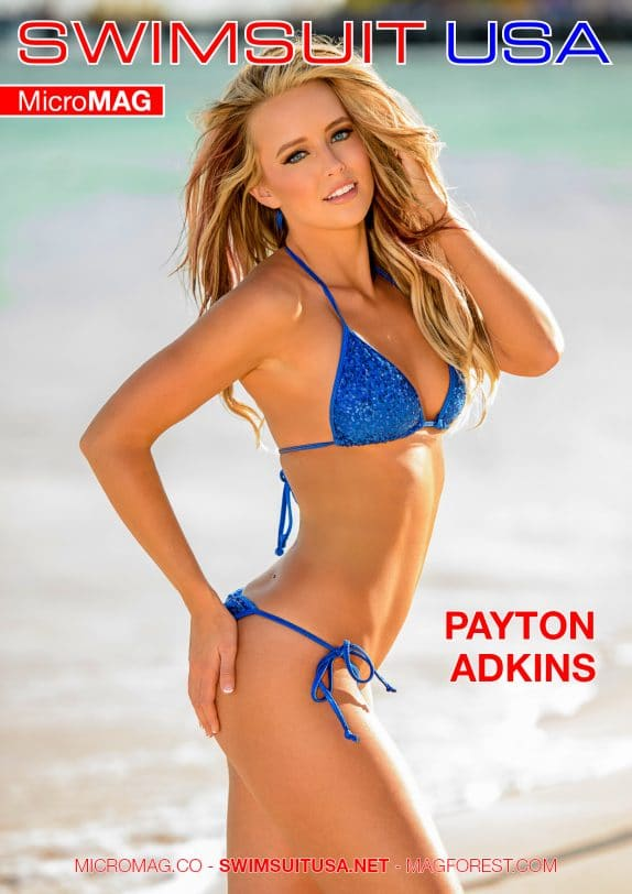 Swimsuit Usa Micromag – Payton Adkins – Issue 2