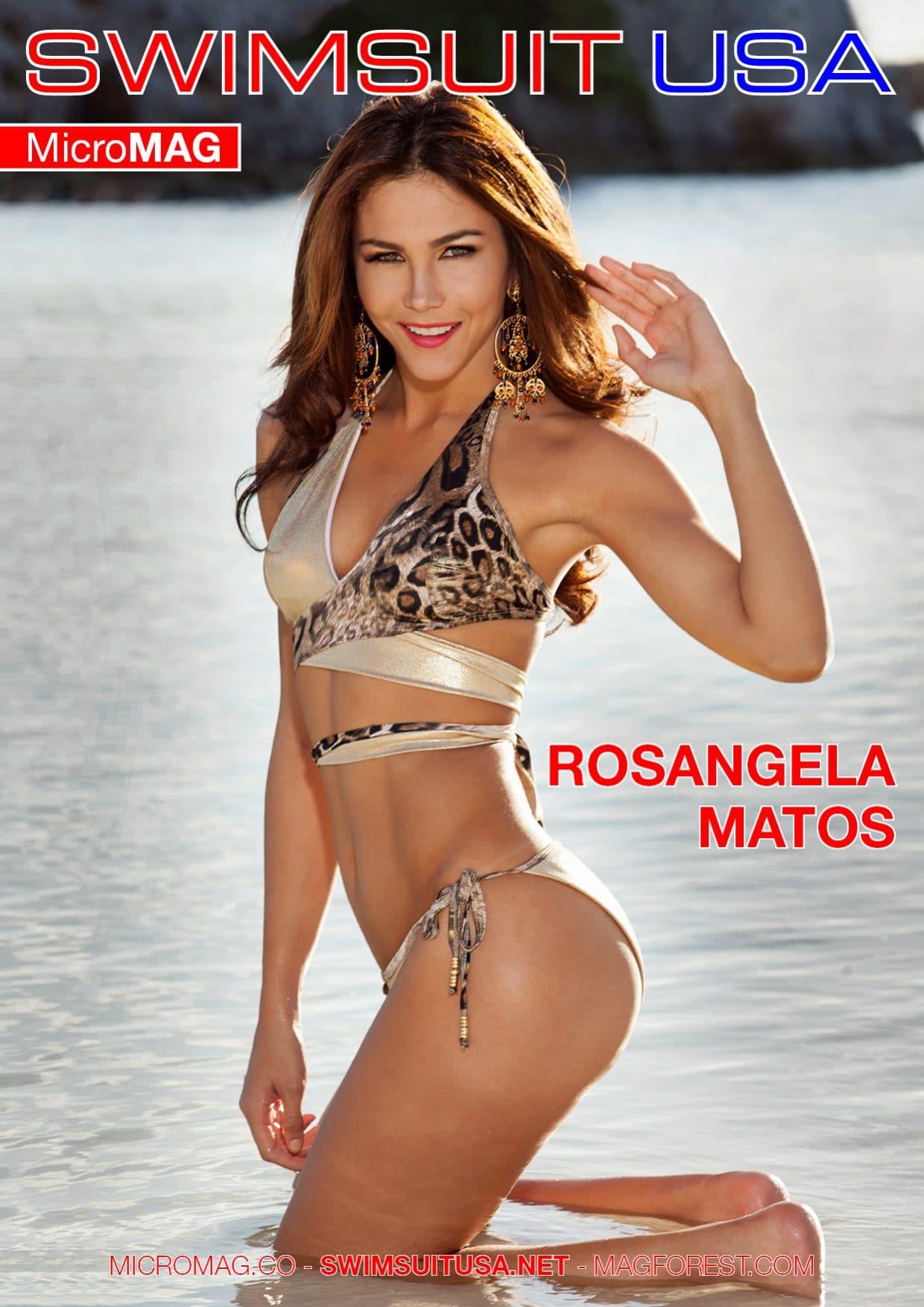 Swimsuit Usa Micromag – Rosangela Matos – Issue 2
