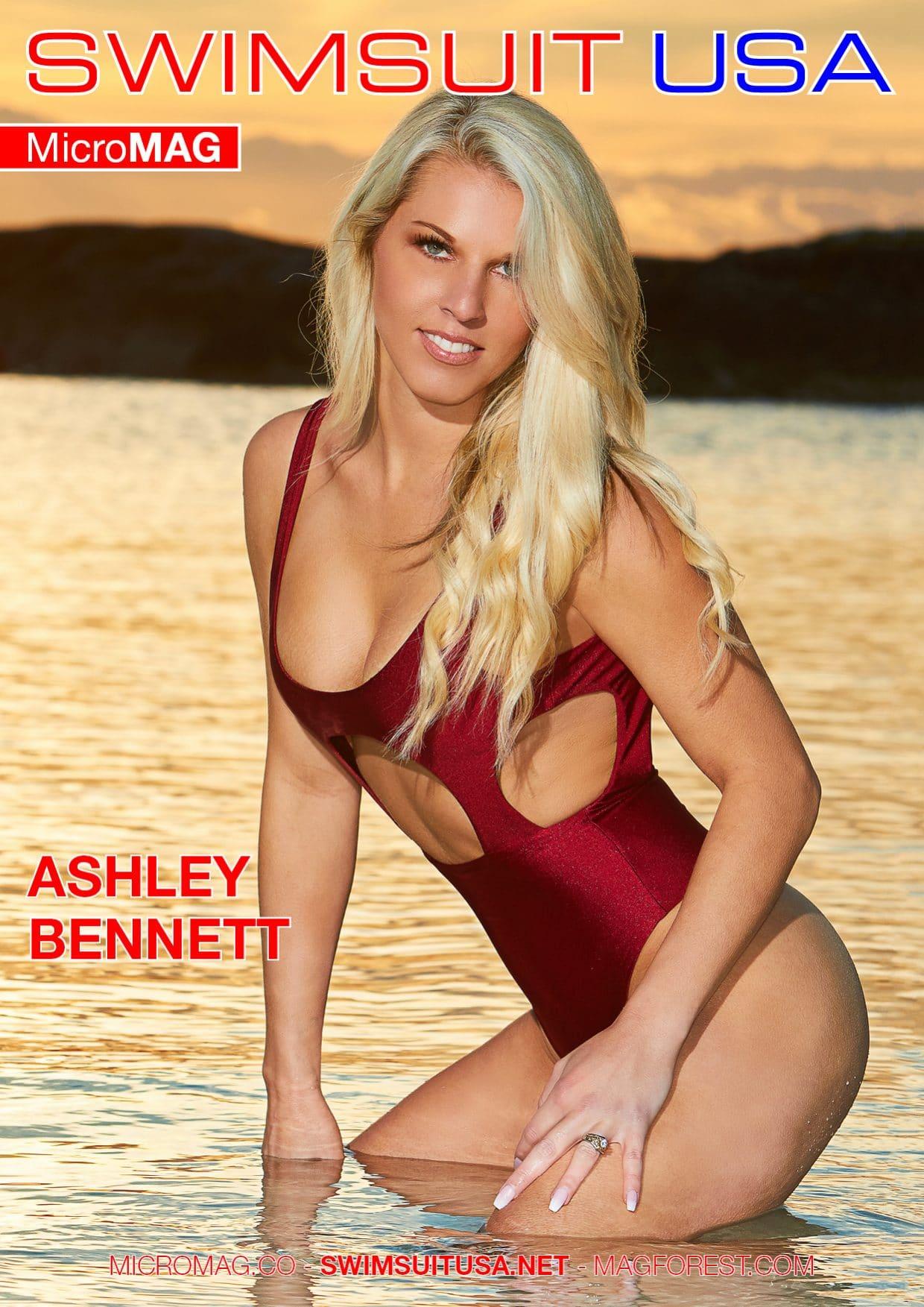 Swimsuit USA MicroMAG - Ashley Bennett 1