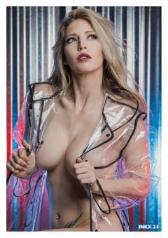 INKX Magazine – December 2018 – Sheridan Smith