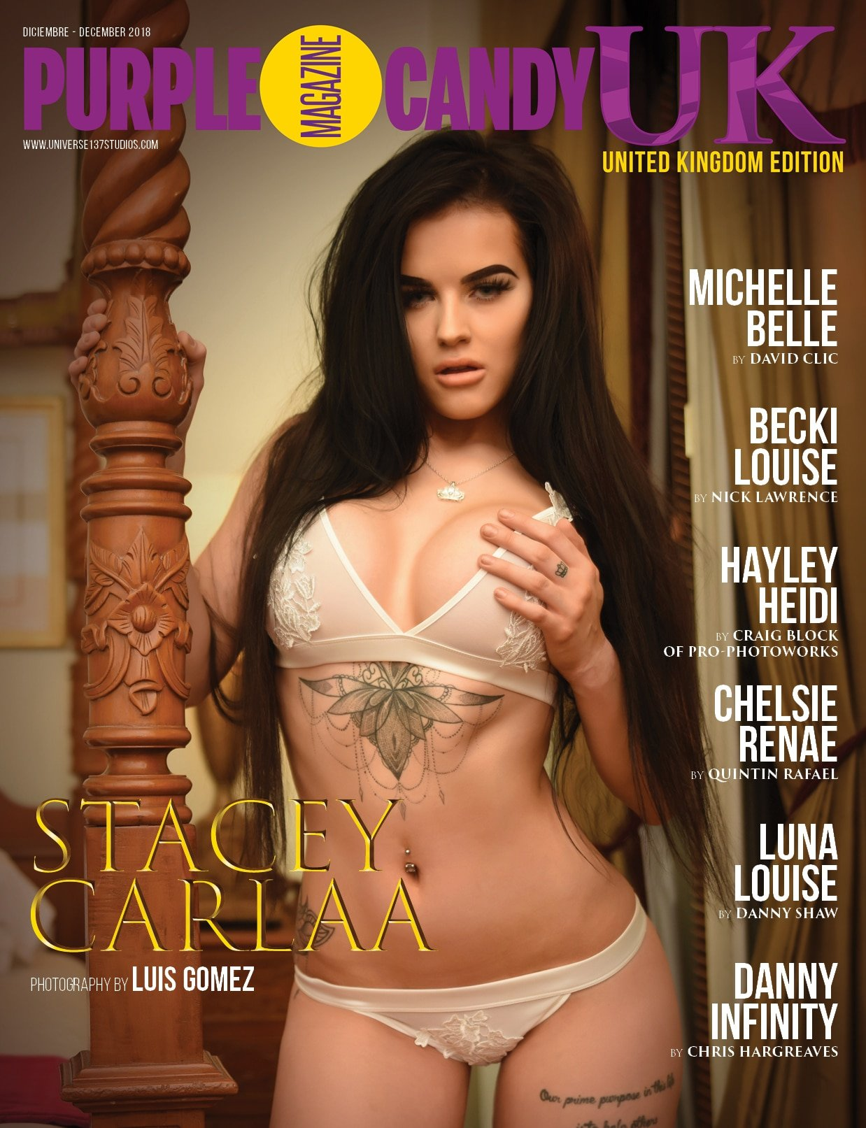 Purple Candy Magazine - UK Special Edition - November 2018 1