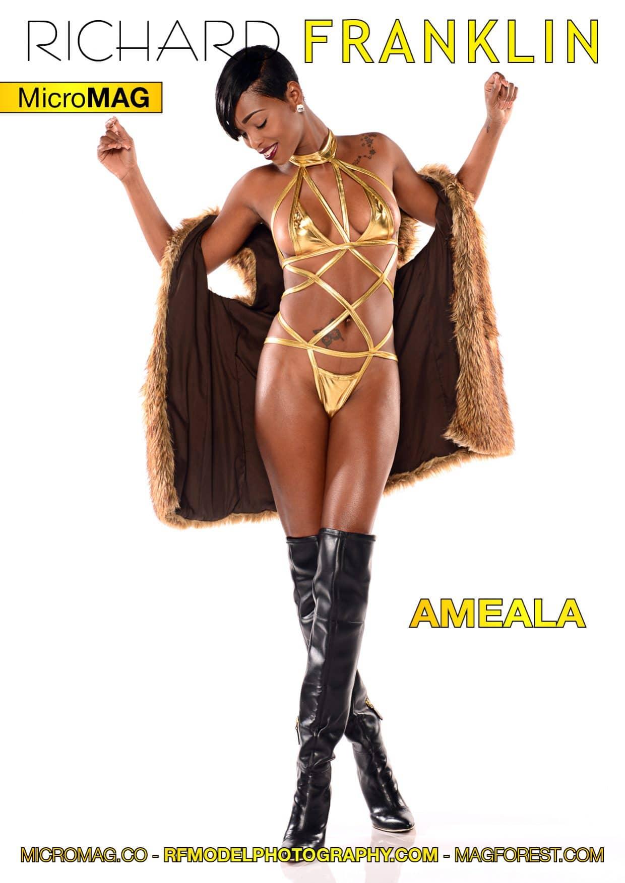 Richard Franklin Micromag – Ameala – Issue 2