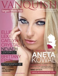 Vanquish Magazine - April 2014 - Aneta Kowal 7