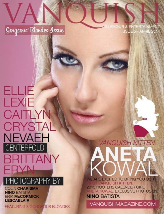 Vanquish Magazine – April 2014 – Aneta Kowal