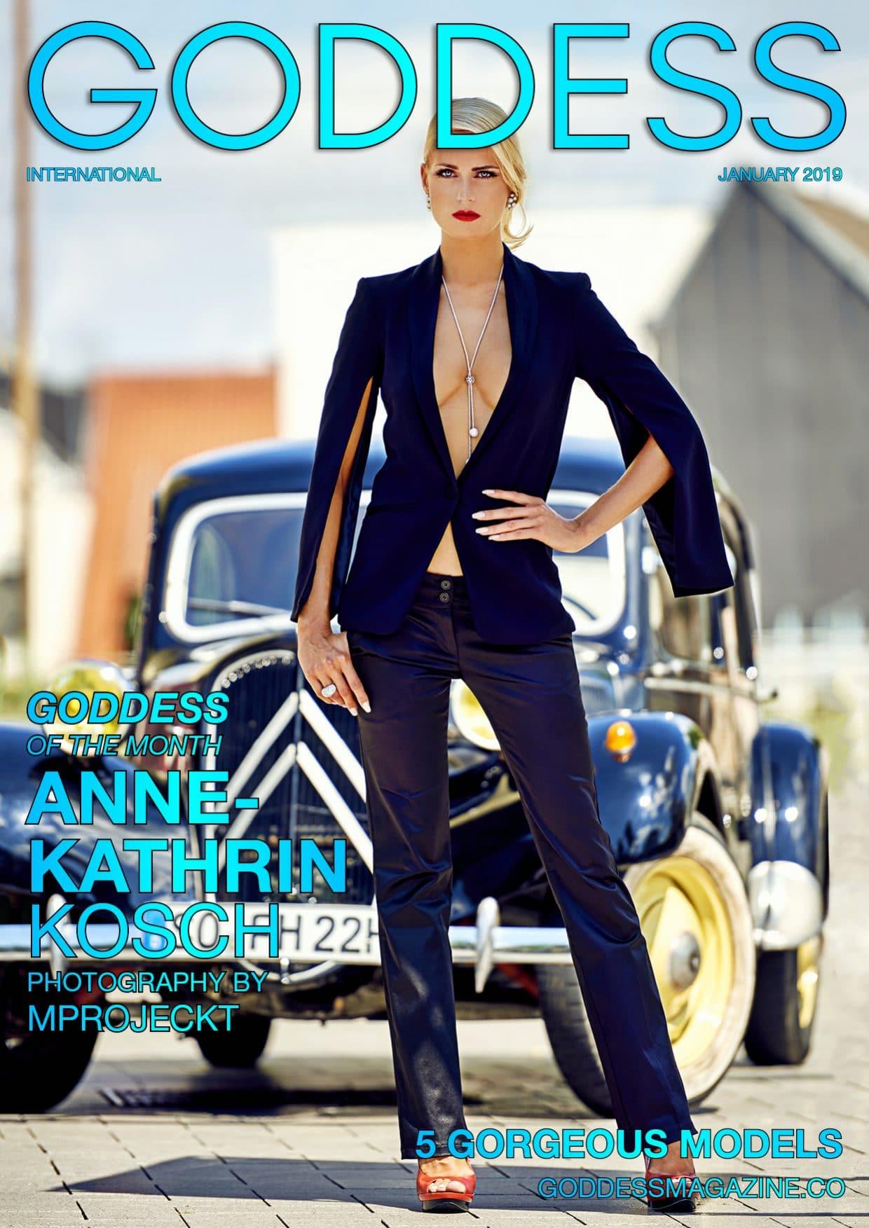 Goddess Magazine – January 2019 – Anne-Kathrin Kosch 1