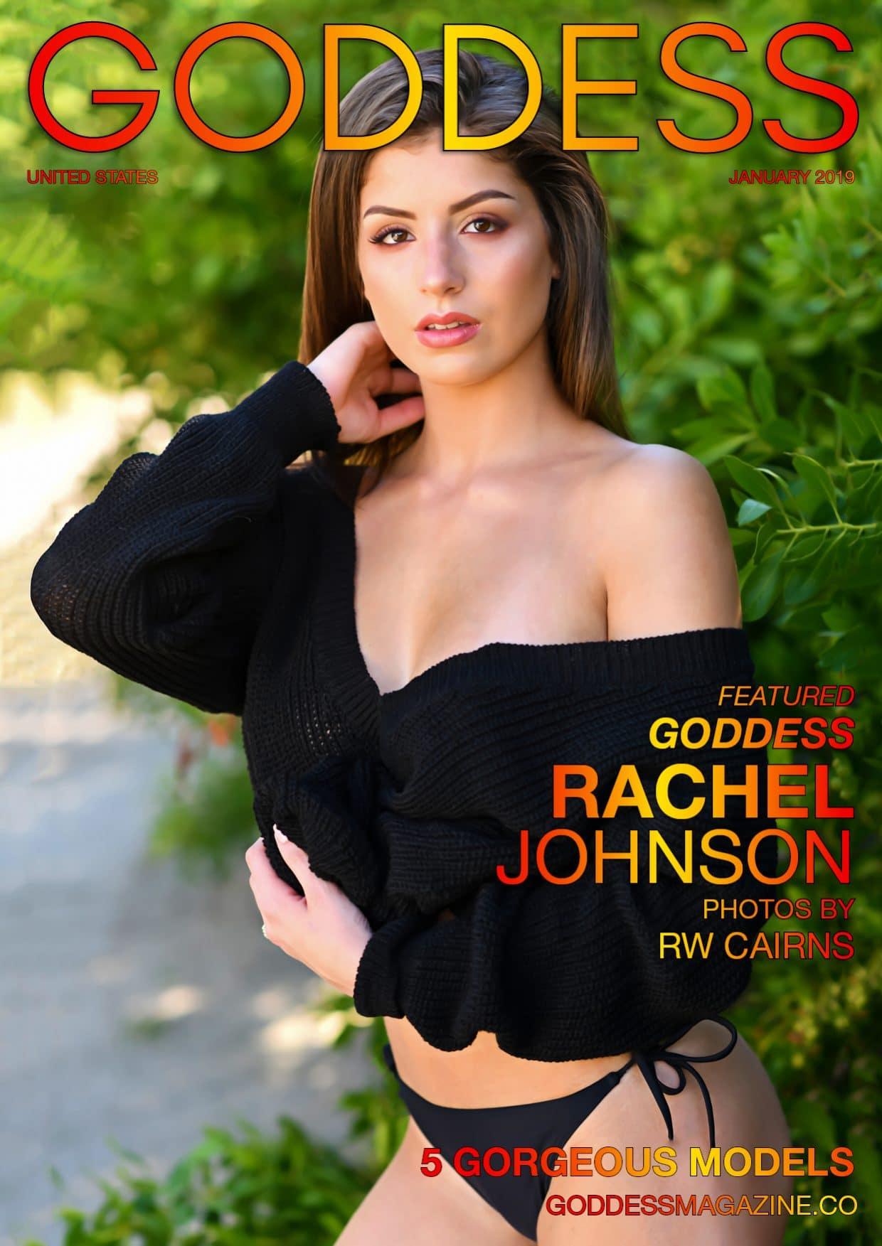 Goddess Magazine – January 2019 – Rachel Johnson