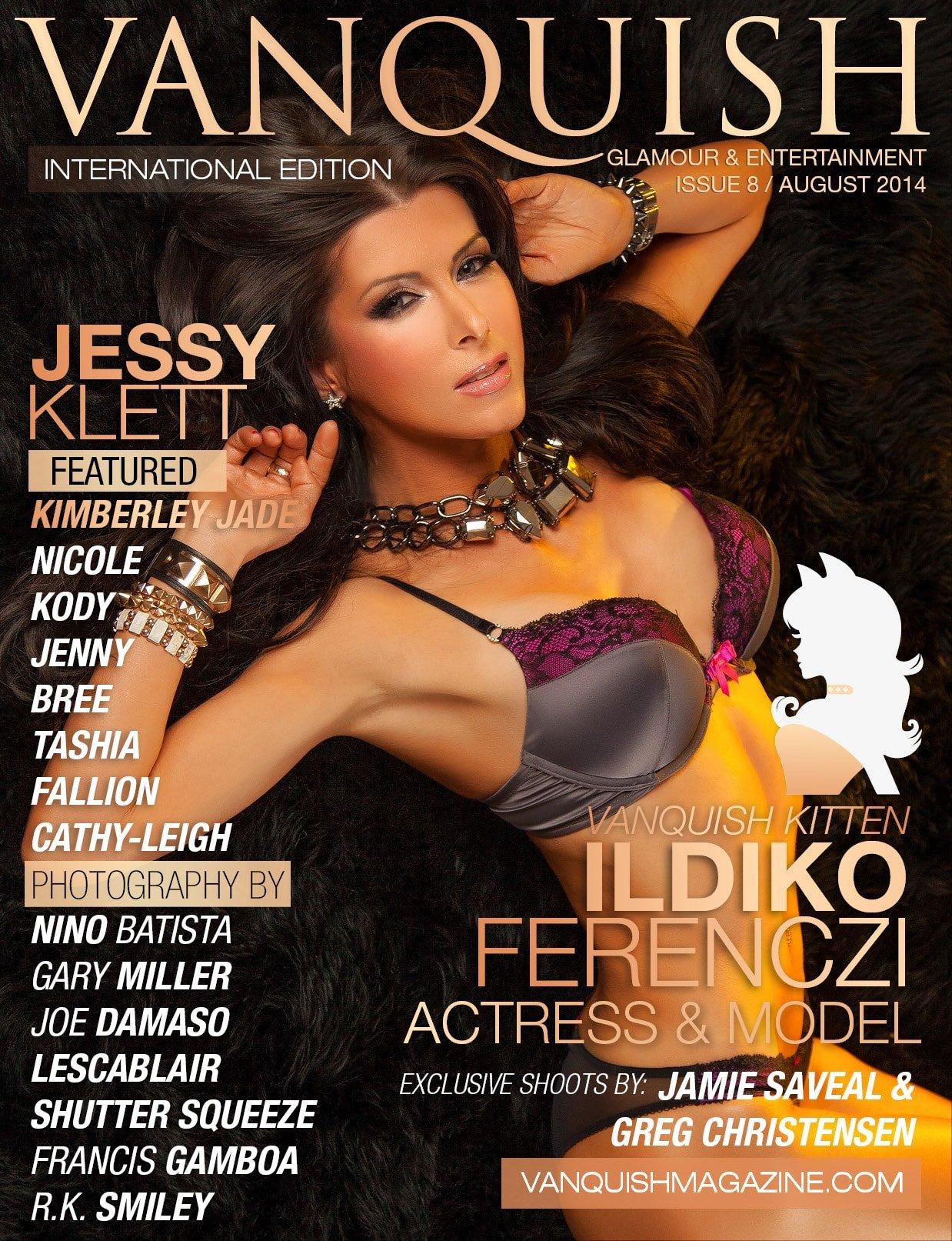 Vanquish Magazine - August 2014 - Ildiko Ferenczi 1