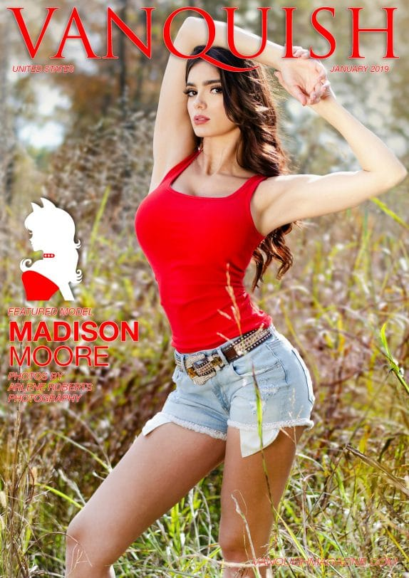 Vanquish Magazine - January 2019 - Madison Moore 3