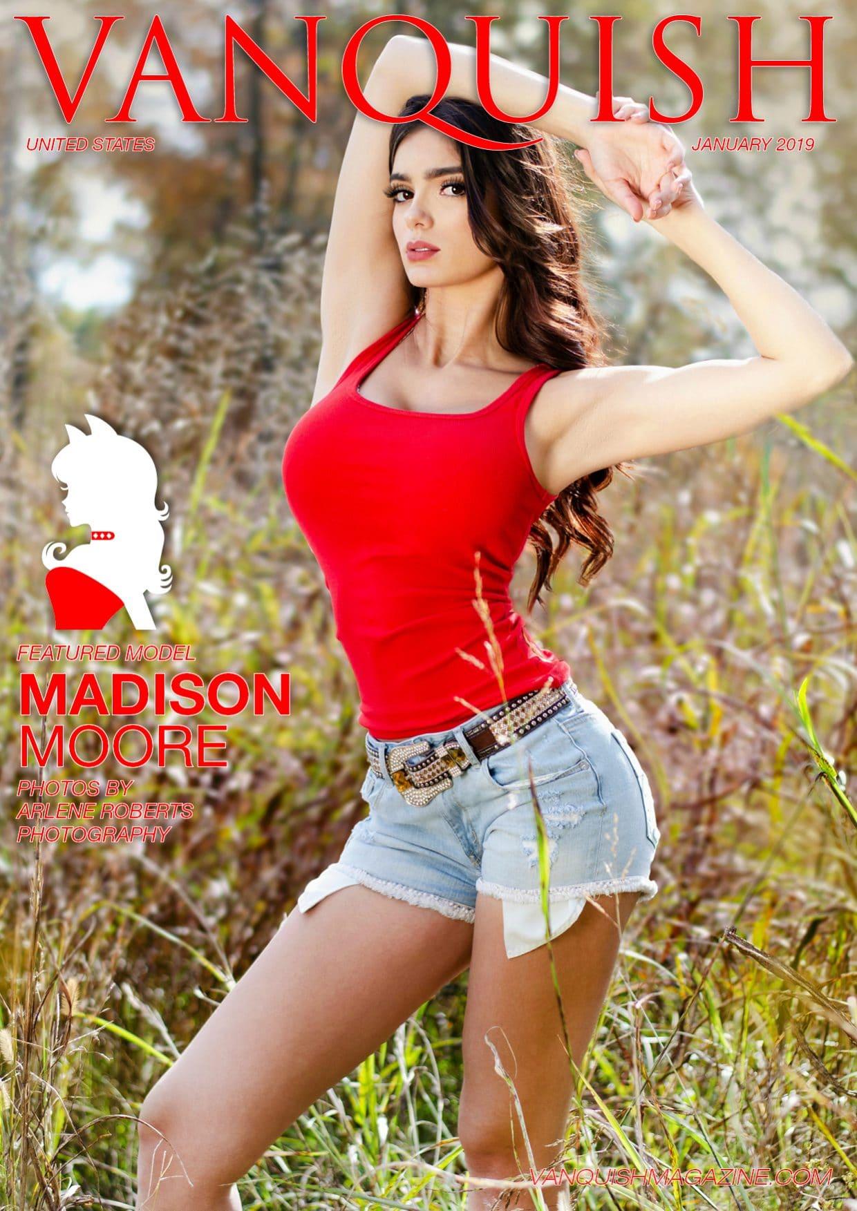 Vanquish Magazine - January 2019 - Madison Moore 1