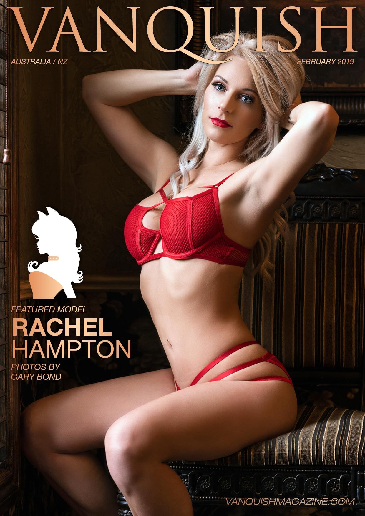 Vanquish Magazine – February 2019 – Rachel Hampton