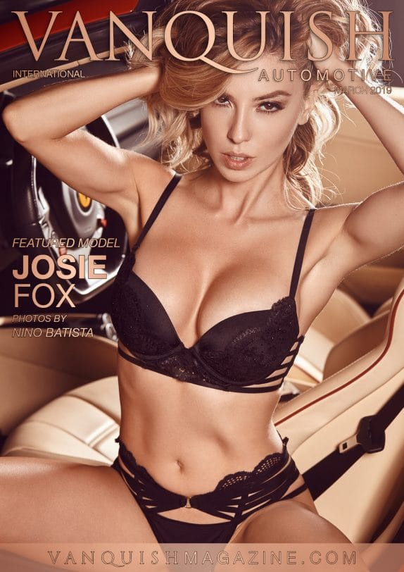 Vanquish Automotive - March 2019 - Josie Fox 1