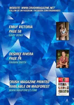 Crush Magazine – July 2019 – Megan Deluca