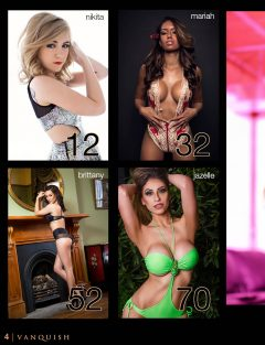 Vanquish Magazine – November 2014 – Caitlyn Hixx