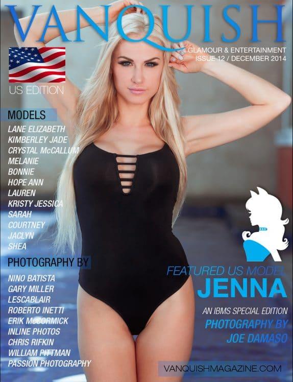 Vanquish Magazine Us – December 2014 – Jenna Marshall