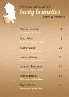 Vanquish Magazine – September 2019 – Busty Brunettes Special Edition – Jessa Brianne