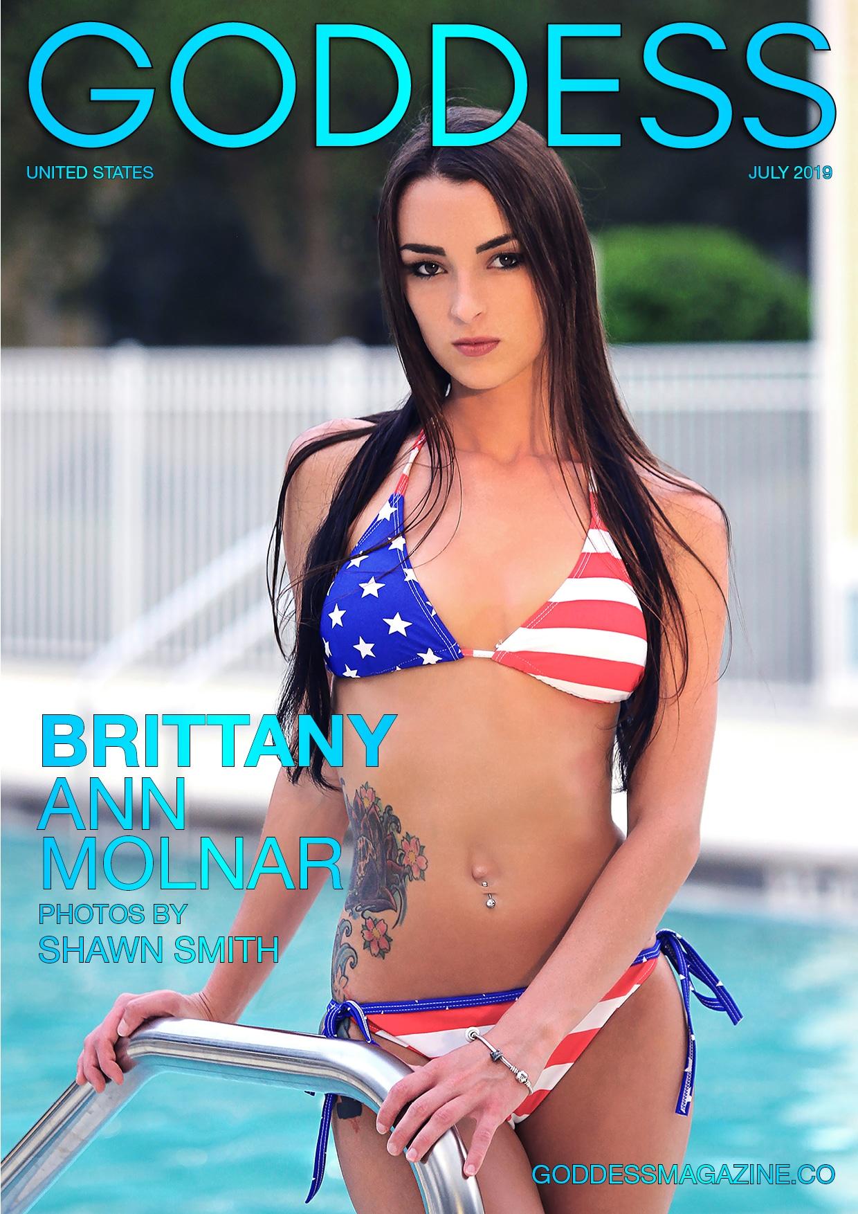 Goddess Magazine – July 2019 – Brittany Ann Molnar 1