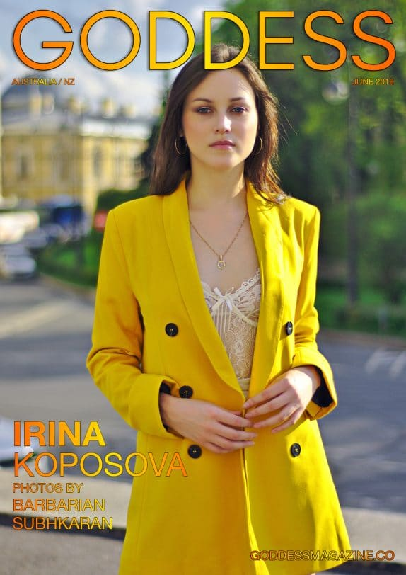 Goddess Magazine – June 2019 – Irina Koposova 3
