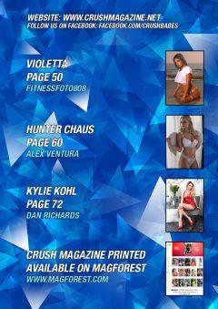 Crush Magazine – November 2019 – Sara Jahan