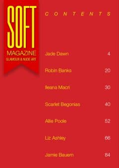 Soft Magazine – February 2020 – Scarlet Begonias