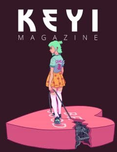 Keyi Magazine – October 2019 – Illustrations