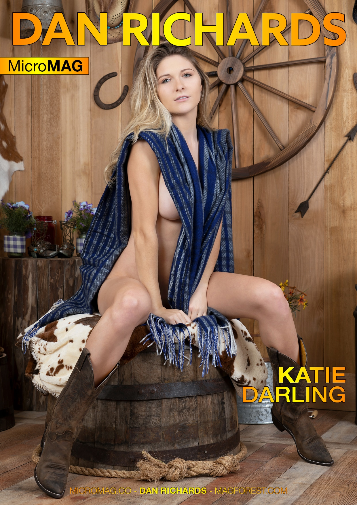 Dan Richards Micromag – Katie Darling