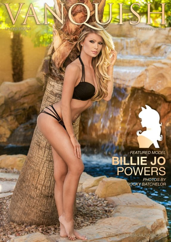 Vanquish Magazine Us – February 2015 – Billie Jo Powers