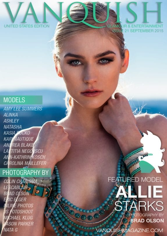 Vanquish Magazine – September 2015 – Allie Starks