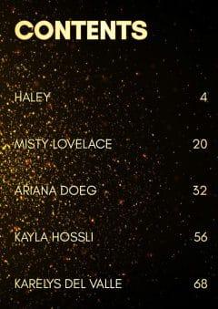Goddess Magazine – March 2020 – Ariana Doeg