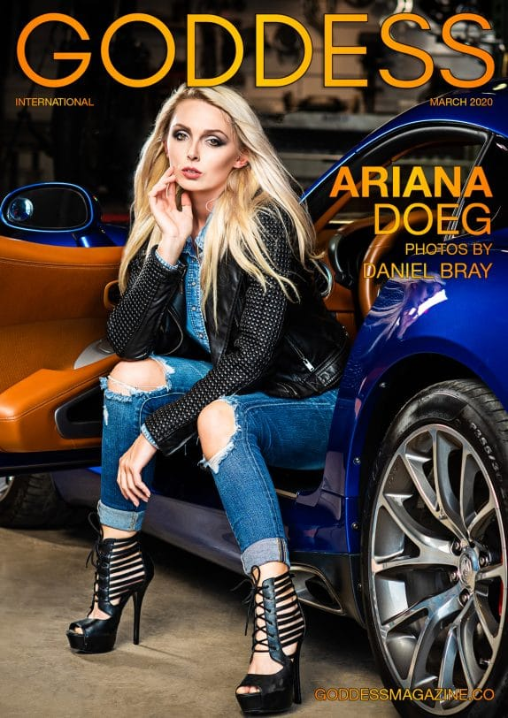 Goddess Magazine – March 2020 – Ariana Doeg