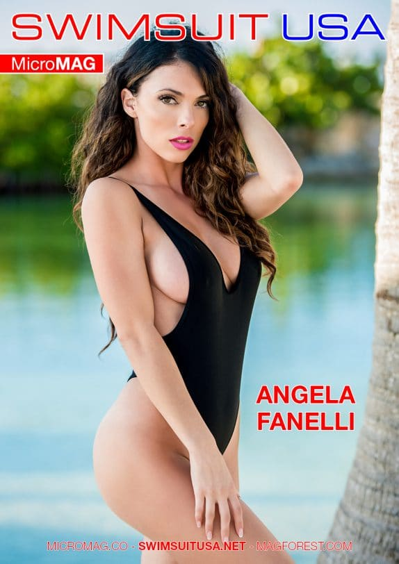 Swimsuit Usa Micromag – Angela Fanelli