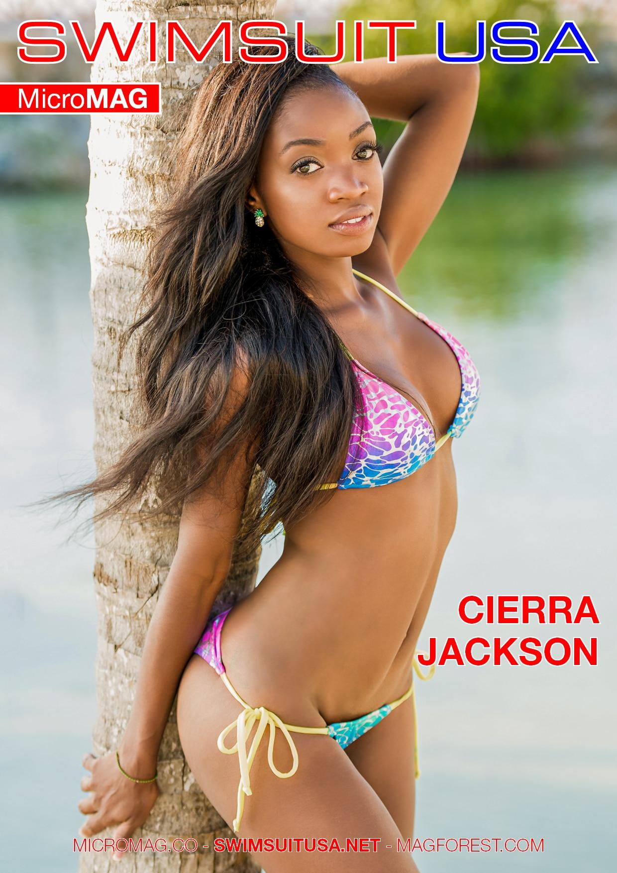Swimsuit Usa Micromag – Cierra Jackson – Issue 1