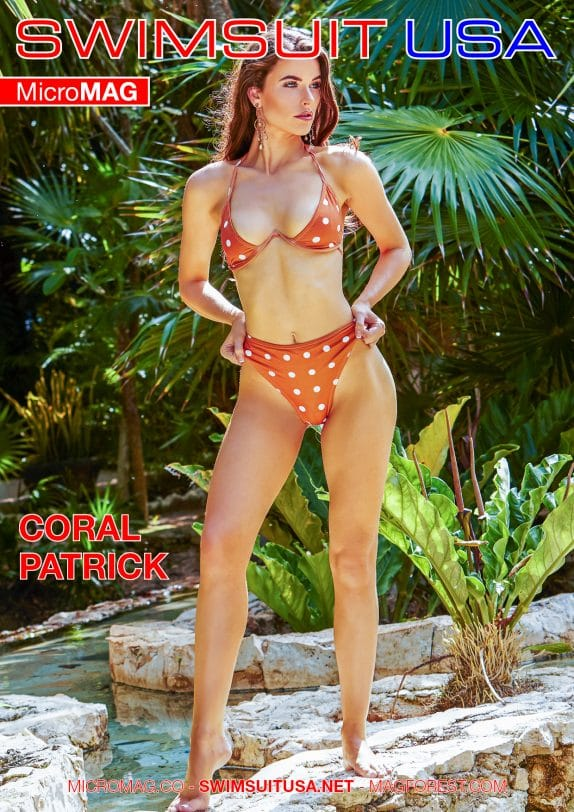 Swimsuit Usa Micromag – Coral Patrick – Issue 1