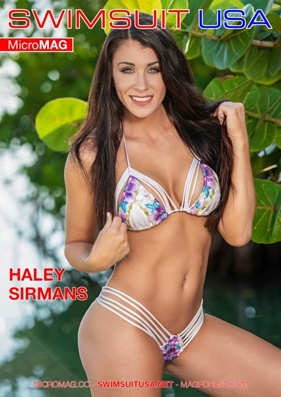 Swimsuit Usa Micromag – Haley Sirmans