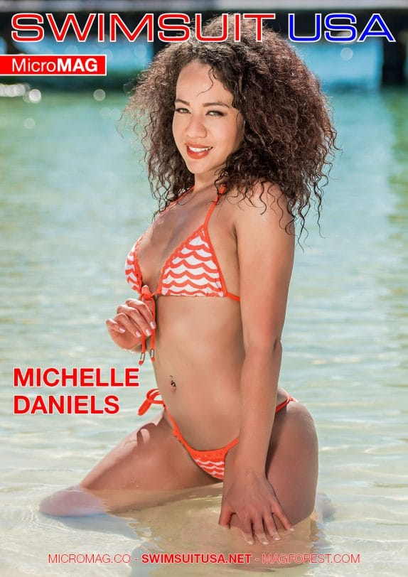 Swimsuit Usa Micromag – Michelle Daniels