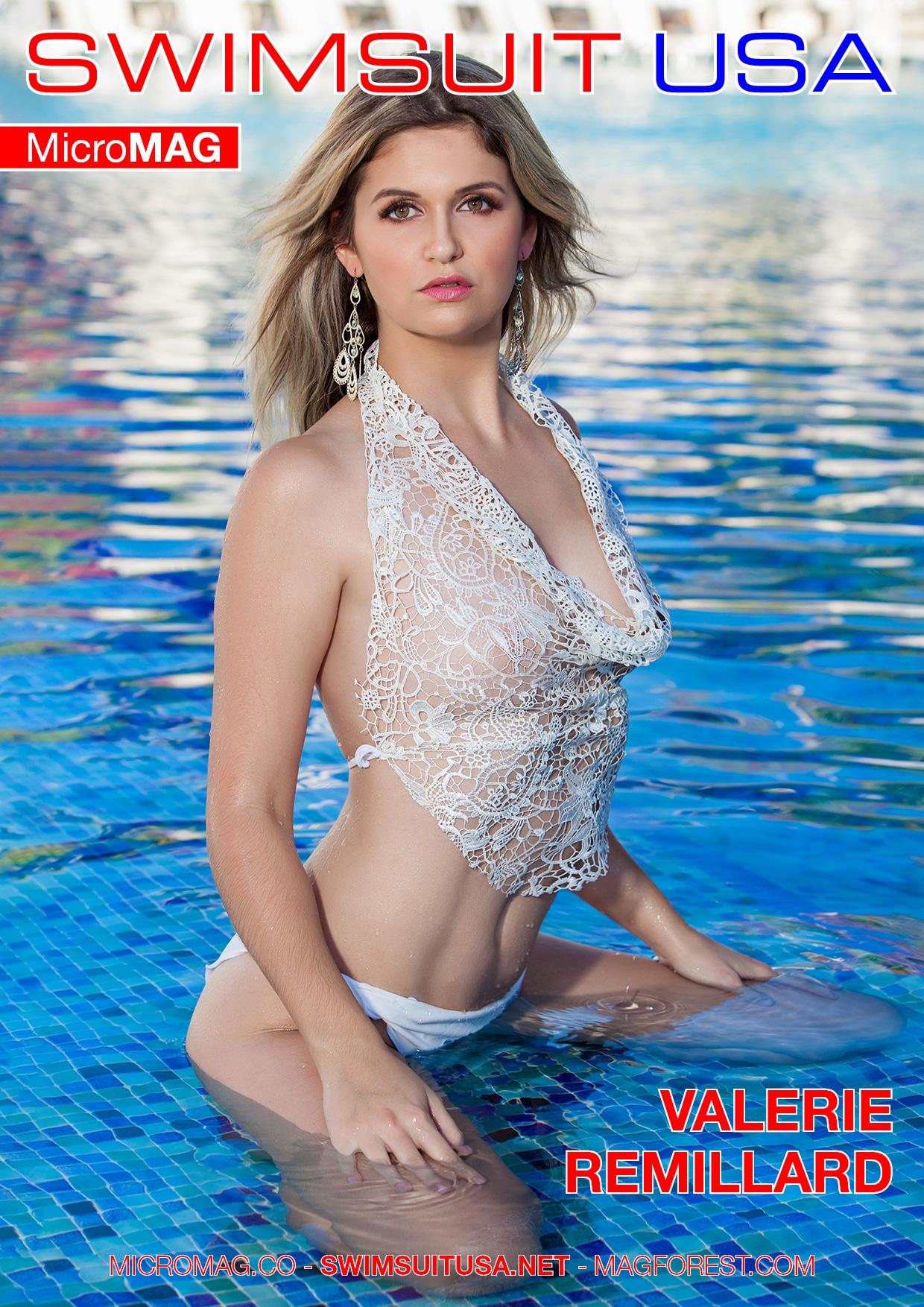 Swimsuit Usa Micromag – Valerie Remillard