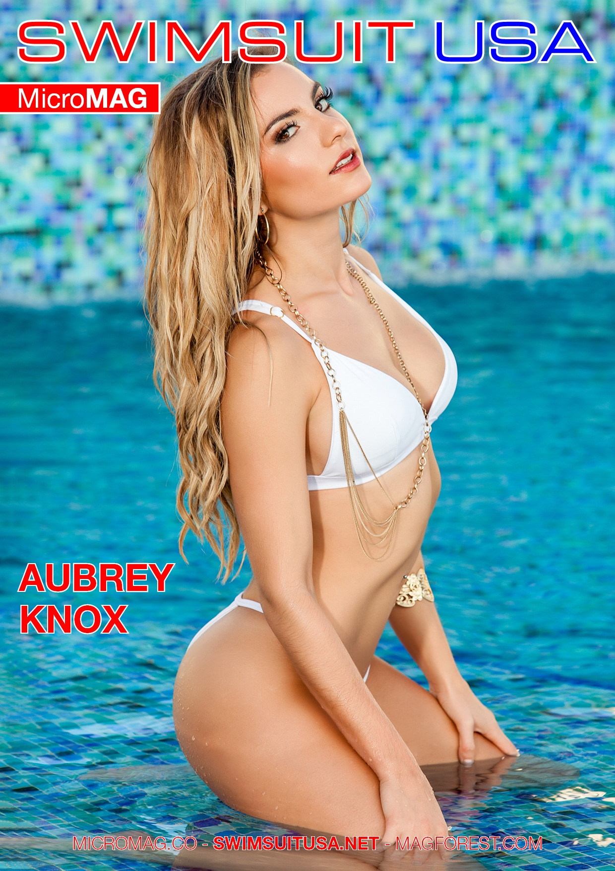 Swimsuit Usa Micromag – Aubrey Knox – Issue 2