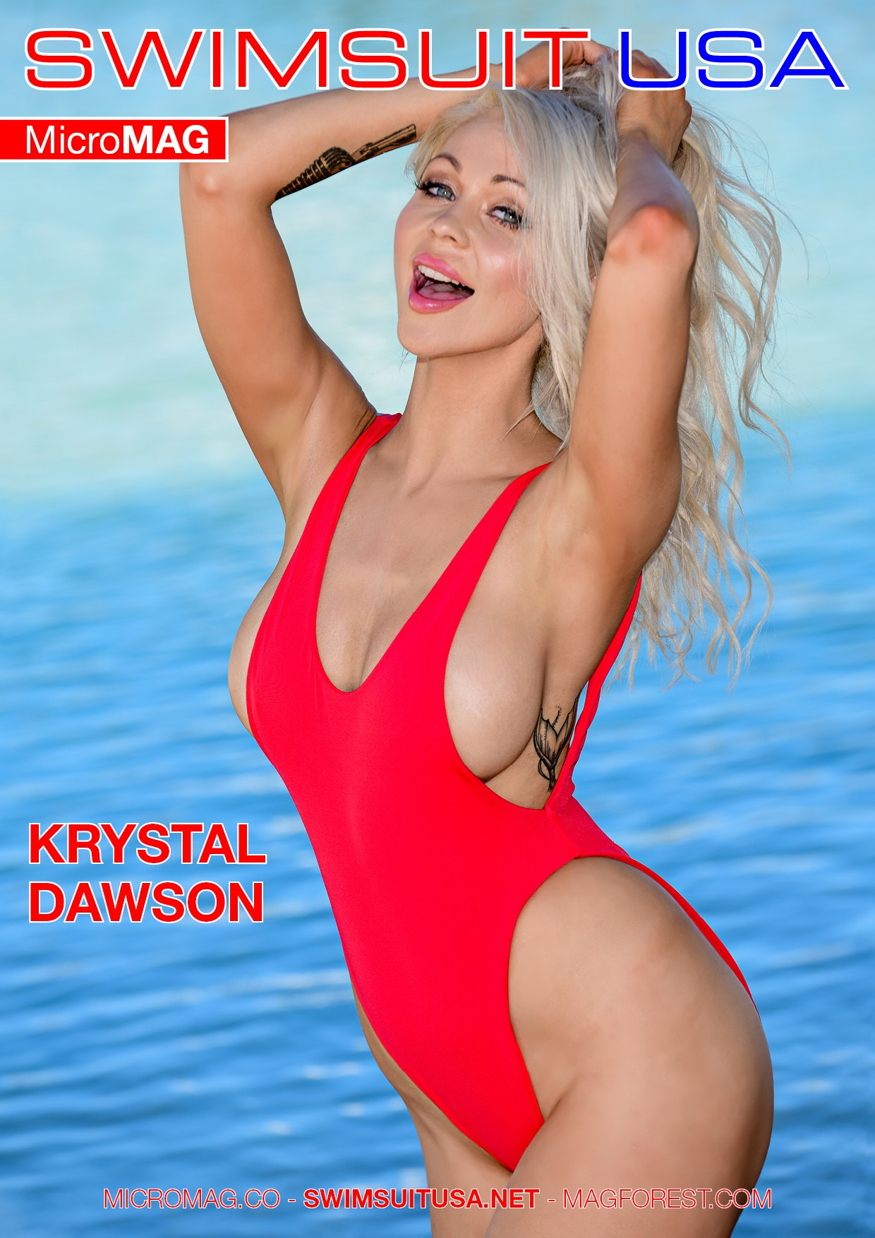 Swimsuit Usa Micromag – Krystal Dawson – Issue 2