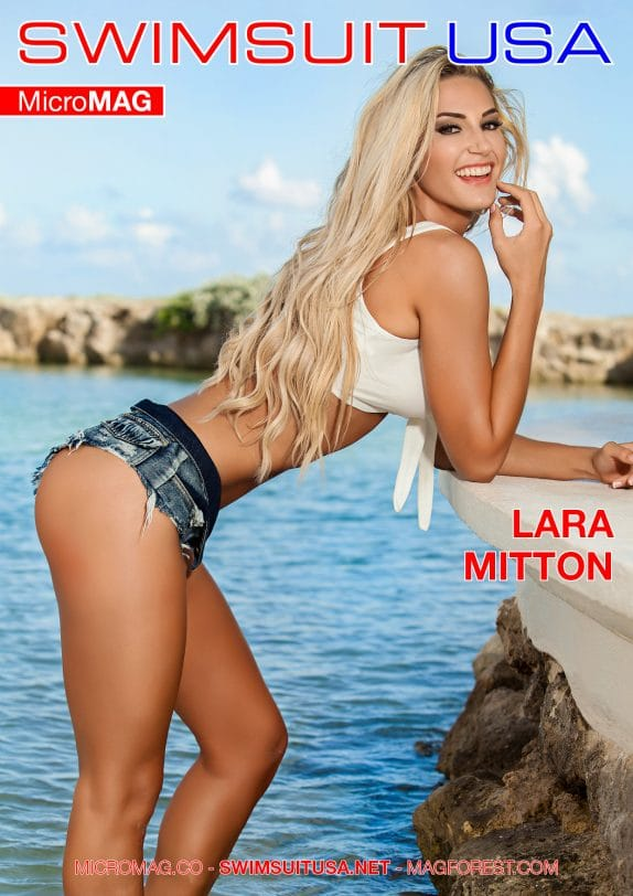 Swimsuit Usa Micromag – Lara Mitton – Issue 3