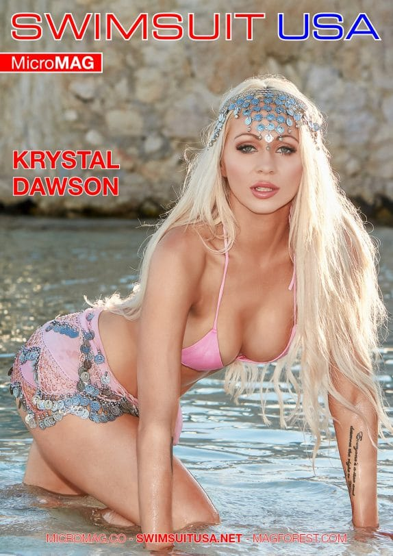 Swimsuit Usa Micromag – Krystal Dawson