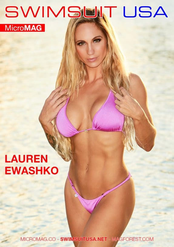 Swimsuit Usa Micromag – Lauren Ewashko
