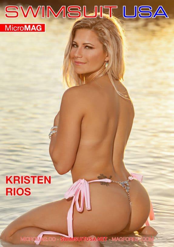 Swimsuit Usa Micromag – Kristen Rios
