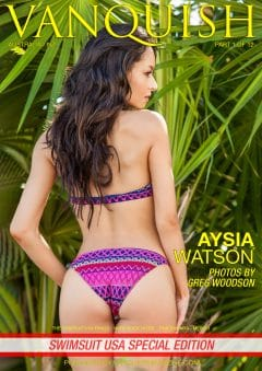 Vanquish Magazine – Swimsuit Usa 2018 – Part 1 – Aysia Watson